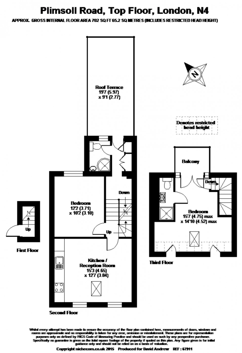Floorplan for Plimsoll Road, N4 2EN