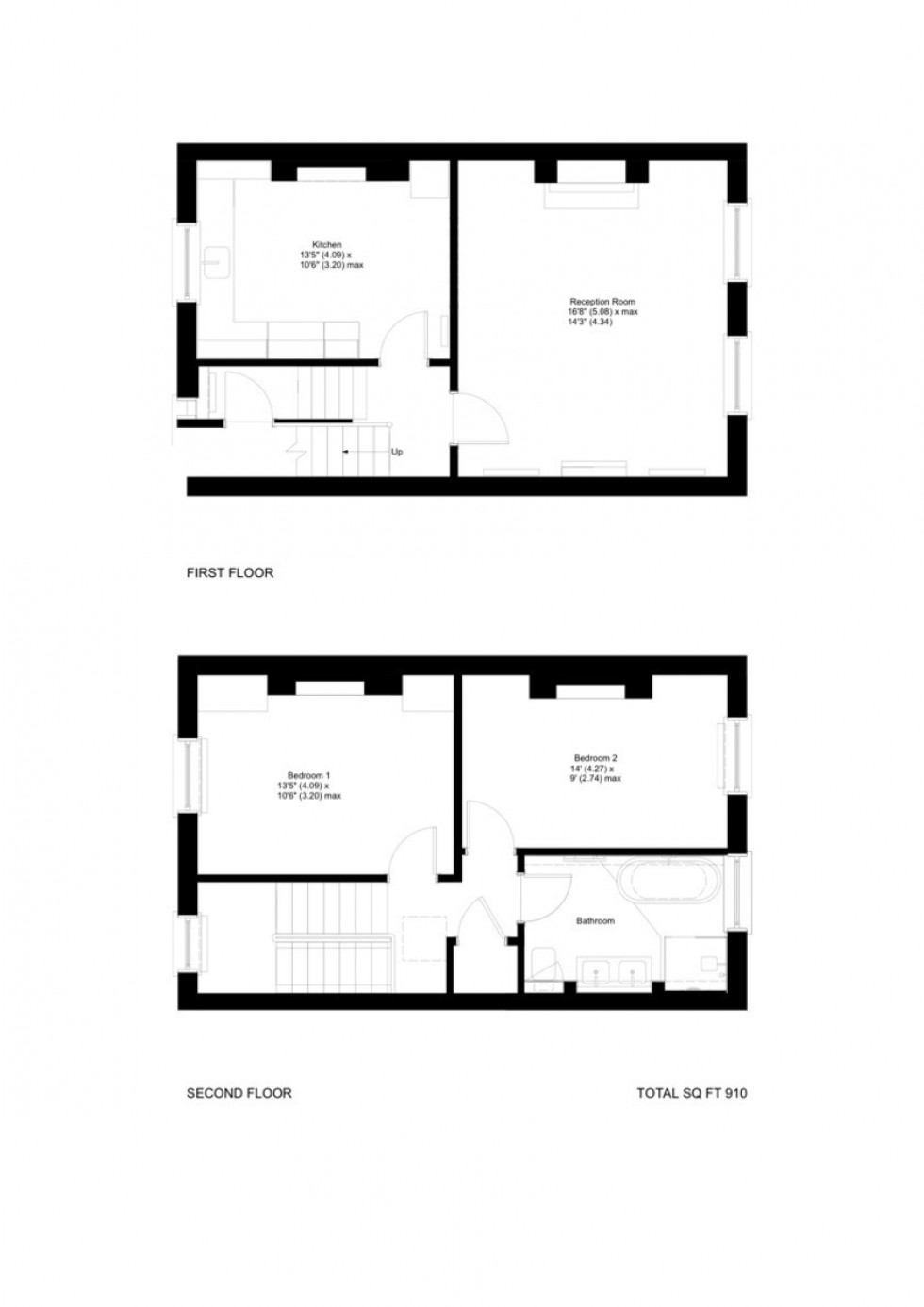 Floorplan for Chester Road, N19 5DF