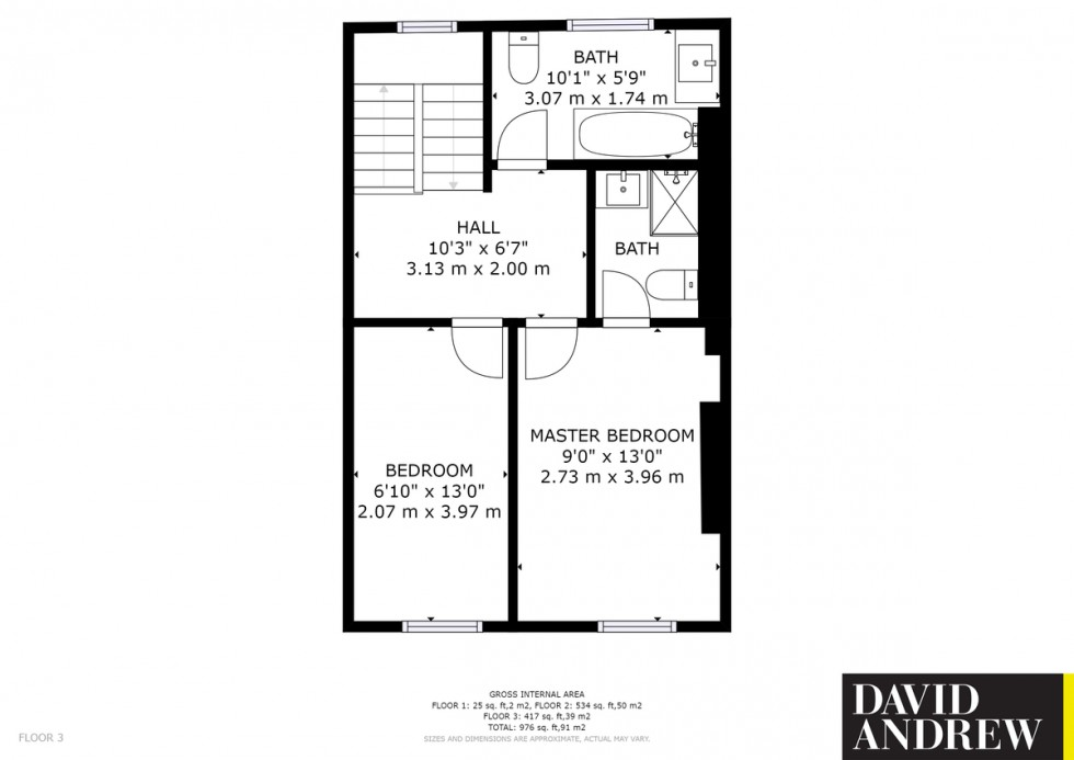 Floorplan for Evershot Road N4 3DG